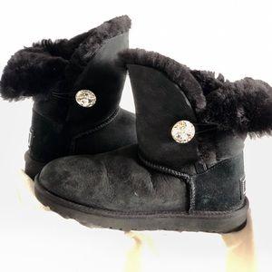 Ugg  Black Bailey Bling Boot